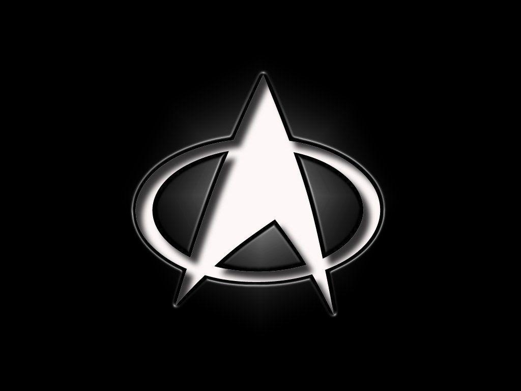 The Next Generation White Logo Wallpaper 1024x768