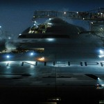Uss Enterprise Front Close Up Wallpaper