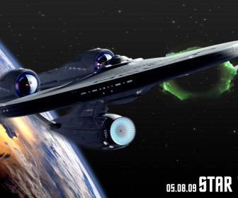 Uss Enterprise Poster Wallpaper