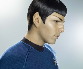 Zachary Quinto As Spock Side Portrait Wallpaper