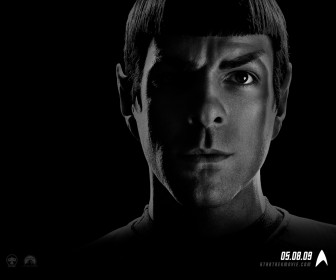 Zachary Quinto Star Trek 2009 Wallpaper