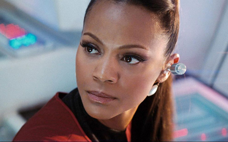 Zoe Saldana In Star Trek 2009 Wallpaper 1440x900